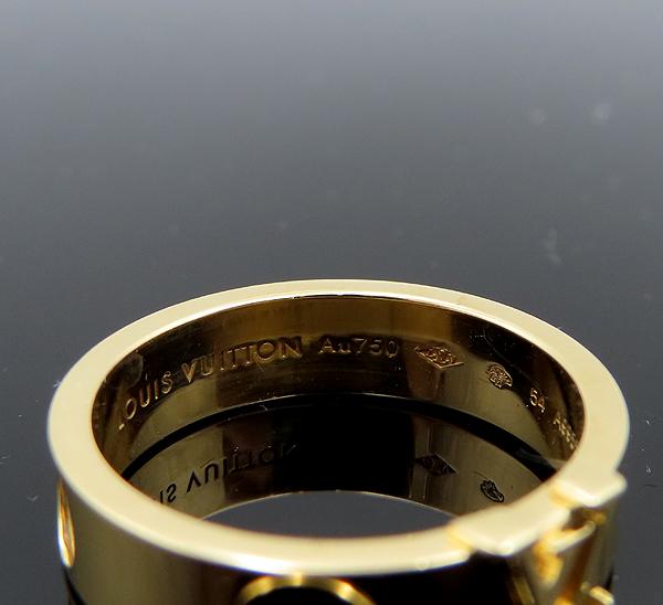 Louis Vuitton(루이비통) Q9K96H 18K 옐로우 골드 앙프렝뜨 반지-14호 [분당정자점] 이미지4 - 고이비토 중고명품