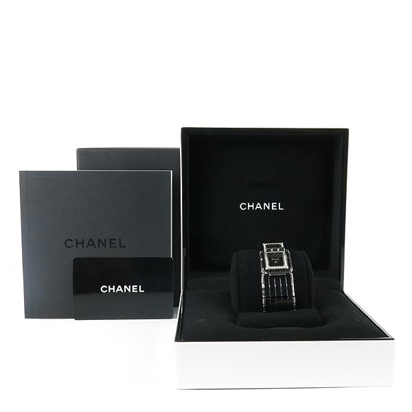 Chanel(샤넬) CODE COCO (코드 코코) 블랙 세라믹 다이아 베젤 여성용 시계 [강남본점]