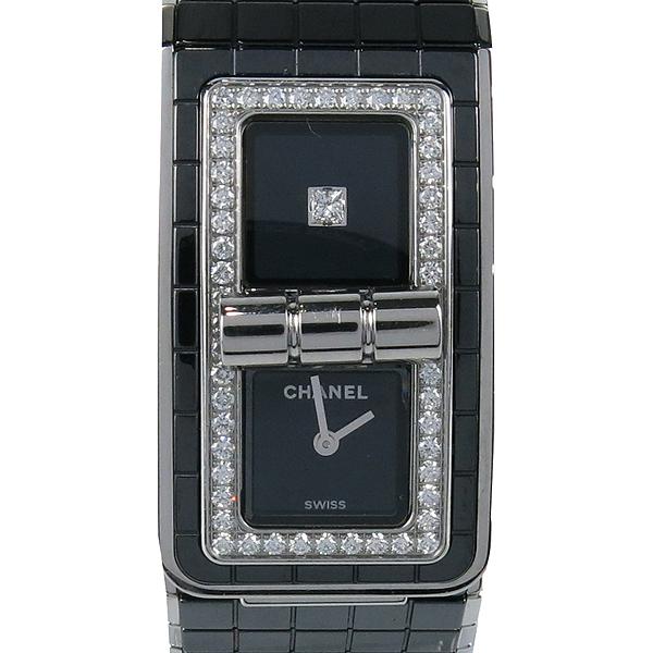 Chanel(샤넬) CODE COCO (코드 코코) 블랙 세라믹 다이아 베젤 여성용 시계 [강남본점] 이미지2 - 고이비토 중고명품
