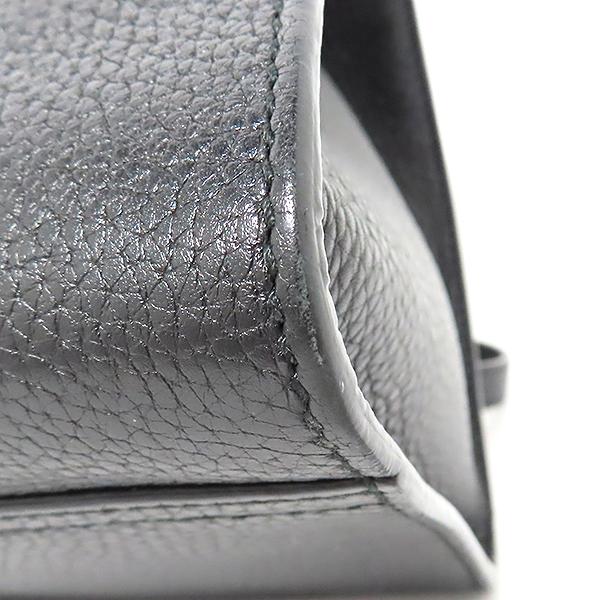 Gucci(구찌) 421890 블랙 레더 GG Marmont(마몬트) 마몬트 탑핸들 스몰 금장 로고 토트백+숄더스트랩 2WAY [대전본점] 이미지5 - 고이비토 중고명품