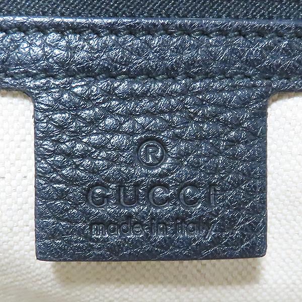Gucci(구찌) 421890 블랙 레더 GG Marmont(마몬트) 마몬트 탑핸들 스몰 금장 로고 토트백+숄더스트랩 2WAY [대전본점] 이미지6 - 고이비토 중고명품