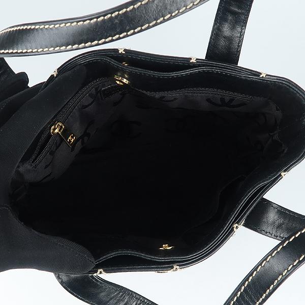 Chanel(샤넬) 금장 COCO로고 와일드 스티치 바겟 토트백 [강남본점] 이미지4 - 고이비토 중고명품