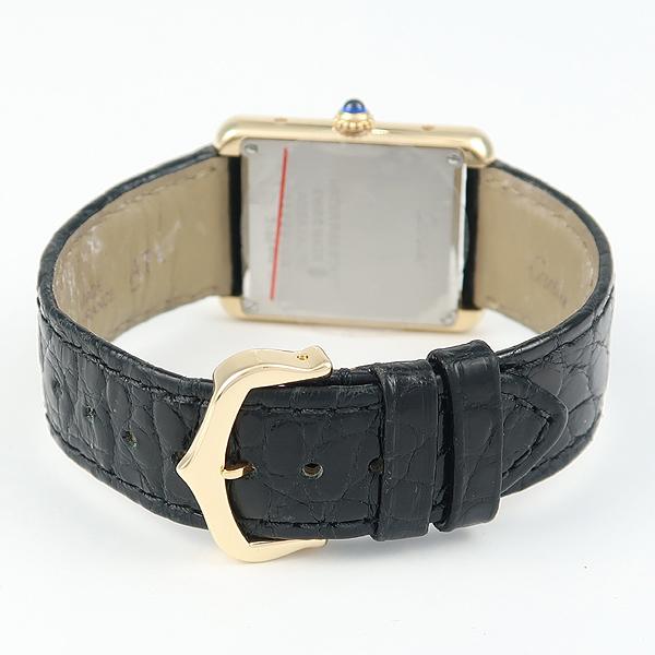 Cartier(까르띠에) W5200002 18K 금통 솔로 탱크 가죽밴드 여성용 시계 [강남본점] 이미지3 - 고이비토 중고명품