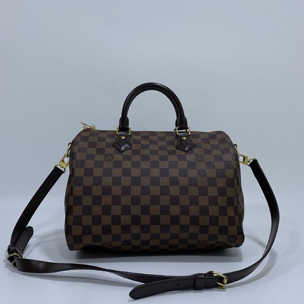 Louis Vuitton(루이비통) N41367 다미에 에벤 캔버스 신형 반둘리에 스피디 30 토트백 + 숄더 스트랩 2WAY [대구반월당본점] 이미지2 - 고이비토 중고명품