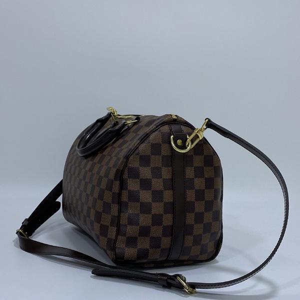 Louis Vuitton(루이비통) N41367 다미에 에벤 캔버스 신형 반둘리에 스피디 30 토트백 + 숄더 스트랩 2WAY [대구반월당본점] 이미지3 - 고이비토 중고명품