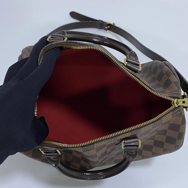 Louis Vuitton(루이비통) N41367 다미에 에벤 캔버스 신형 반둘리에 스피디 30 토트백 + 숄더 스트랩 2WAY [대구반월당본점] 이미지7 - 고이비토 중고명품