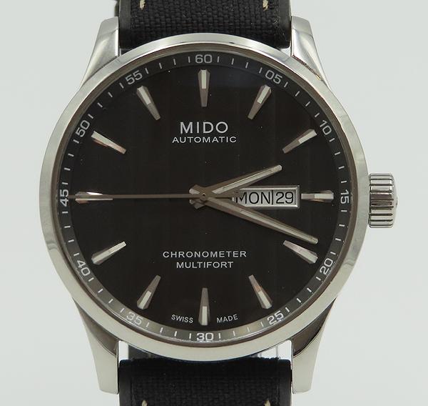 MIDO(미도) M038.431.11.061.00 MULTIFORT(멀티포트) 크로노미터 42MM 러버 밴드 남성용 시계 [분당정자점] 이미지2 - 고이비토 중고명품