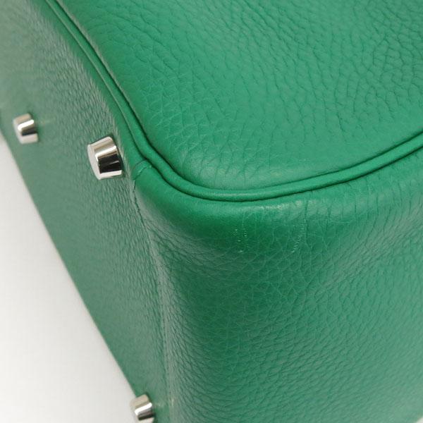 Hermes(에르메스) 그린 컬러 신형 LINDY 린디30 끌레망스 은장 로고 토트백 + 숄더스트랩 [동대문점] 이미지6 - 고이비토 중고명품