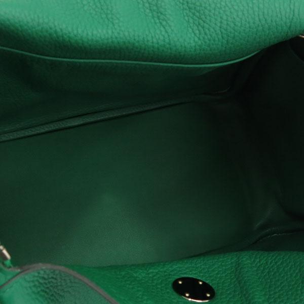 Hermes(에르메스) 그린 컬러 신형 LINDY 린디30 끌레망스 은장 로고 토트백 + 숄더스트랩 [동대문점] 이미지7 - 고이비토 중고명품