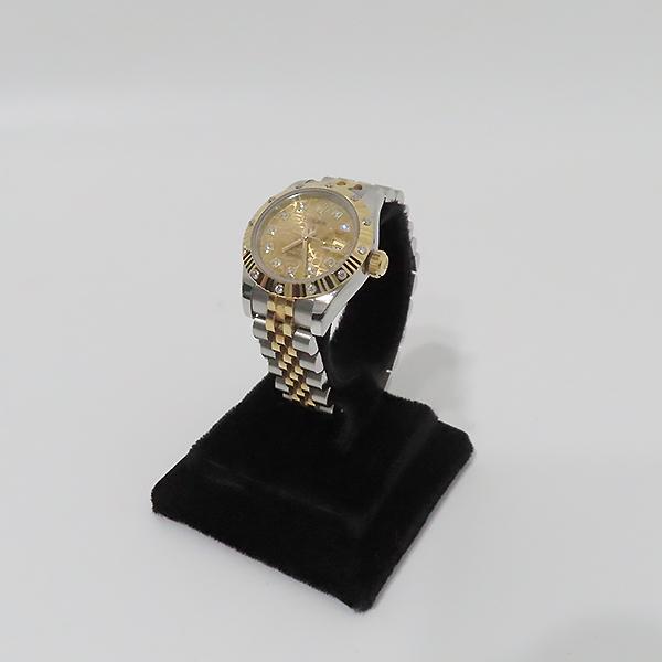 Rolex(로렉스) 179313 18K 옐로우골드 콤비 베젤 12포인트 다이아 컴퓨터판 DATEJUST(데이저스트) 26mm 여성용 시계 [부산서면롯데점] 이미지2 - 고이비토 중고명품