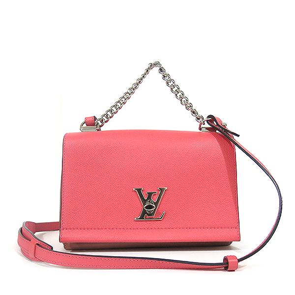 Louis Vuitton(루이비통) M42278 락미(LOCKME) II BB BLOSSOM(블라썸) LV 트위스트 은장 로고 체인 토트백 + 숄더스트랩 [대구동성로점] 이미지2 - 고이비토 중고명품