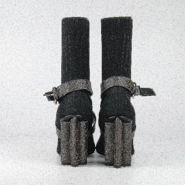 Louis Vuitton(루이비통) 1A66F8 실루엣 앵클 부츠 -225MM [강남본점] 이미지4 - 고이비토 중고명품