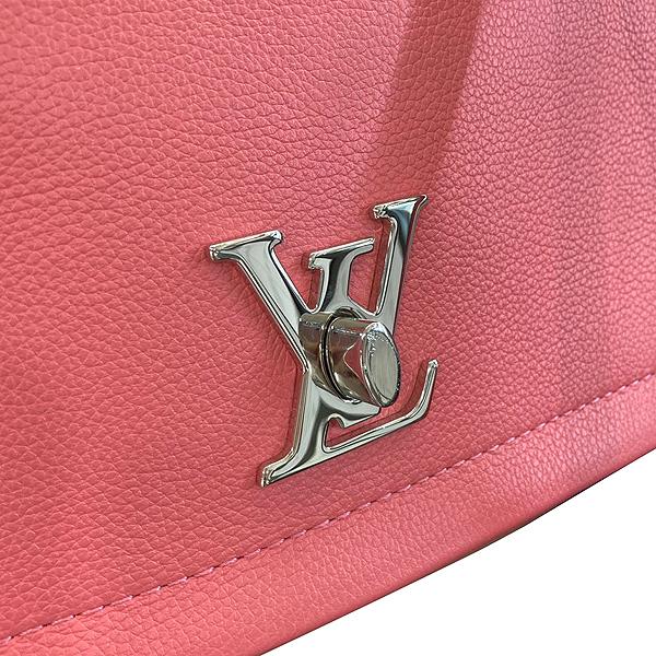 Louis Vuitton(루이비통) M42278 락미(LOCKME) II BB BLOSSOM(블라썸) LV 트위스트 은장 로고 체인 토트백 + 숄더스트랩 [대구동성로점] 이미지5 - 고이비토 중고명품