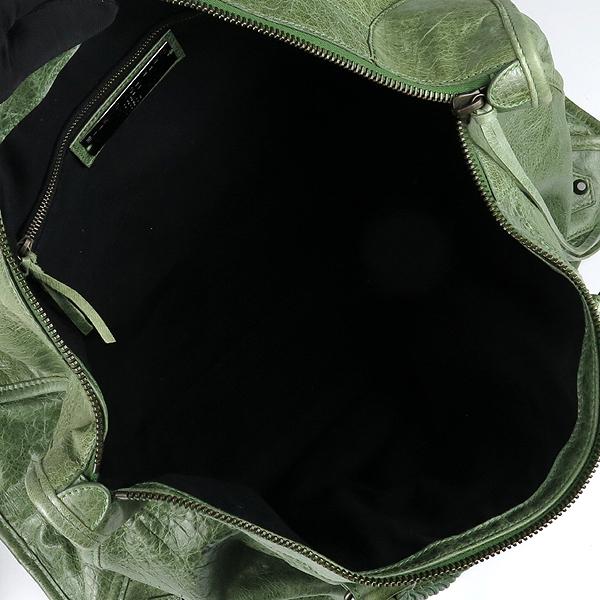Balenciaga(발렌시아가) 110506 빈티지 그린컬러 CLASSIC 클래식 WEEKENDER 위켄더 토트백 [강남본점] 이미지4 - 고이비토 중고명품