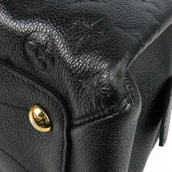 Louis Vuitton(루이비통) M41491 모노그램 앙프렝뜨 Black Beige 블랙 베이지 보주 MM 토트백 + 숄더스트랩 2WAY [강남본점] 이미지4 - 고이비토 중고명품