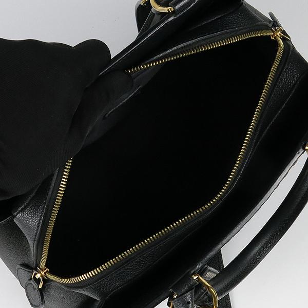 Louis Vuitton(루이비통) M41491 모노그램 앙프렝뜨 Black Beige 블랙 베이지 보주 MM 토트백 + 숄더스트랩 2WAY [강남본점] 이미지5 - 고이비토 중고명품