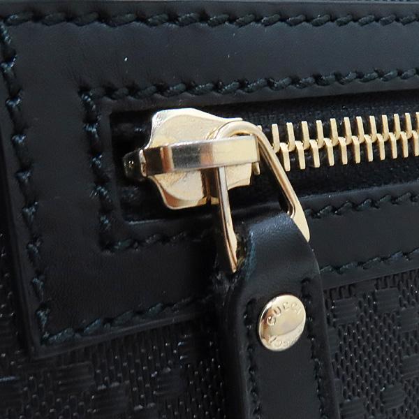 Gucci(구찌) 387399 블랙 레더 DIAMANTE 패턴 메신저 크로스백 [인천점] 이미지4 - 고이비토 중고명품