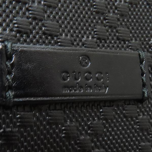 Gucci(구찌) 387399 블랙 레더 DIAMANTE 패턴 메신저 크로스백 [인천점] 이미지5 - 고이비토 중고명품
