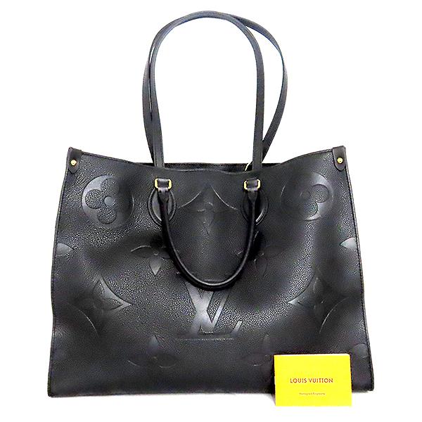 Louis Vuitton(루이비통) M44925 모노그램 앙프렝뜨 Noir(느와르) 컬러 온더고 GM 토트백 + 숄더 스트랩 [대전본점]