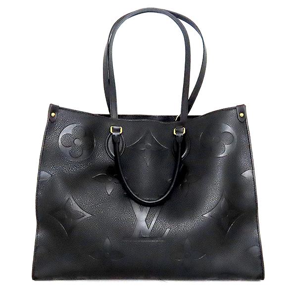 Louis Vuitton(루이비통) M44925 모노그램 앙프렝뜨 Noir(느와르) 컬러 온더고 GM 토트백 + 숄더 스트랩 [대전본점] 이미지2 - 고이비토 중고명품