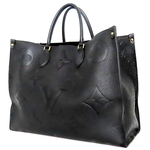 Louis Vuitton(루이비통) M44925 모노그램 앙프렝뜨 Noir(느와르) 컬러 온더고 GM 토트백 + 숄더 스트랩 [대전본점] 이미지3 - 고이비토 중고명품