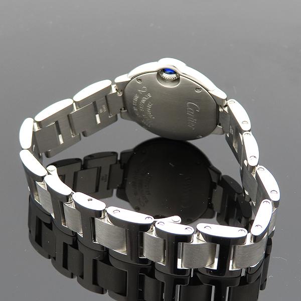 Cartier(까르띠에) W4BB0015 발롱블루 28mm 다이아 베젤 스틸 쿼츠 여성용 시계 [대전갤러리아점] 이미지4 - 고이비토 중고명품