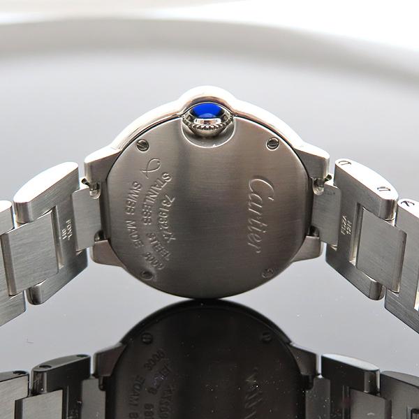 Cartier(까르띠에) W4BB0015 발롱블루 28mm 다이아 베젤 스틸 쿼츠 여성용 시계 [대전갤러리아점] 이미지5 - 고이비토 중고명품