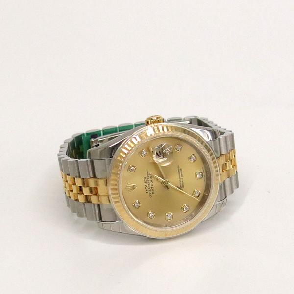 Rolex(로렉스) 116233 10P 다이아 데이트 18K 옐로우 골드 콤비 쥬빌레 브레이슬릿 오토매틱 남성용 시계 [동대문점] 이미지3 - 고이비토 중고명품