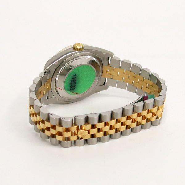 Rolex(로렉스) 116233 10P 다이아 데이트 18K 옐로우 골드 콤비 쥬빌레 브레이슬릿 오토매틱 남성용 시계 [동대문점] 이미지4 - 고이비토 중고명품