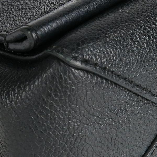 Louis Vuitton(루이비통) M51200 락미(LOCKME) II BB 느와르 카프레더 오버사이즈 LV 트위스트 은장 로고 체인 2WAY [강남본점] 이미지4 - 고이비토 중고명품