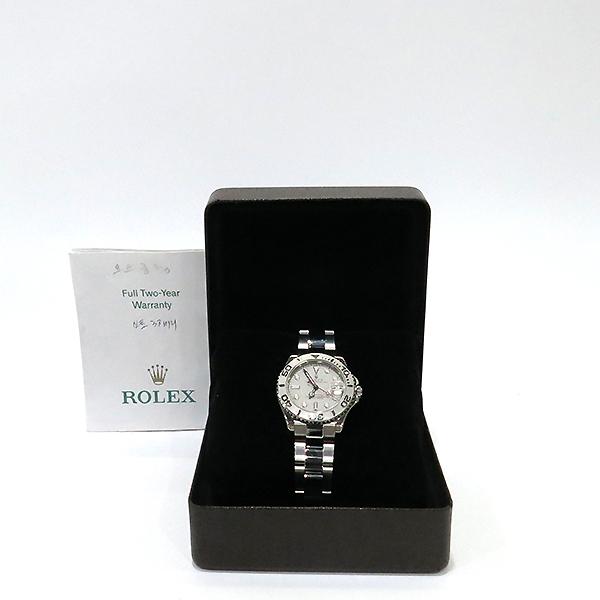 Rolex(로렉스) 168622 요트마스터 스틸 중형(35mm) 오토메틱 남여공용 시계 [부산센텀본점]