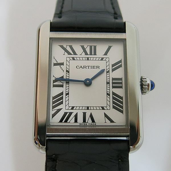 Cartier(까르띠에) W5200013 탱크 솔로 S사이즈 24MM 쿼츠 가죽밴드 여성용 시계 [대구동성로점] 이미지2 - 고이비토 중고명품
