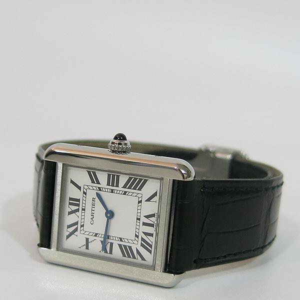 Cartier(까르띠에) W5200013 탱크 솔로 S사이즈 24MM 쿼츠 가죽밴드 여성용 시계 [대구동성로점] 이미지3 - 고이비토 중고명품