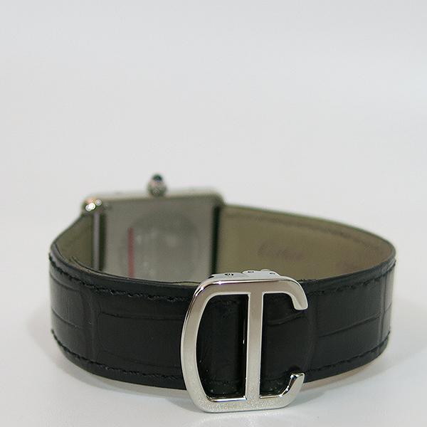 Cartier(까르띠에) W5200013 탱크 솔로 S사이즈 24MM 쿼츠 가죽밴드 여성용 시계 [대구동성로점] 이미지4 - 고이비토 중고명품