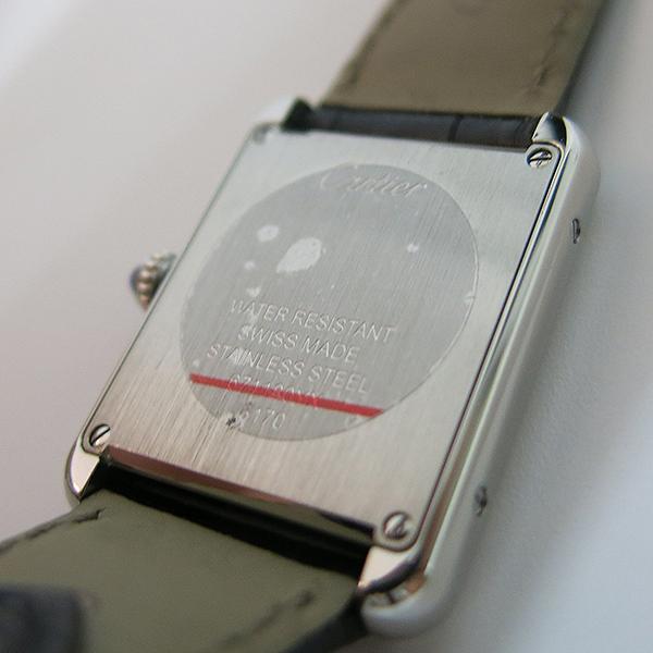 Cartier(까르띠에) W5200013 탱크 솔로 S사이즈 24MM 쿼츠 가죽밴드 여성용 시계 [대구동성로점] 이미지5 - 고이비토 중고명품