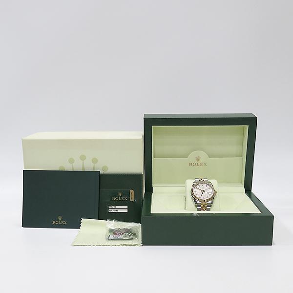 Rolex(로렉스) 116233 DATEJUST(데이저스트) 10P 다이아 데이트 18K 옐로우 골드 콤비 컴퓨터판 오토매틱 남성용 시계 [부산센텀본점]