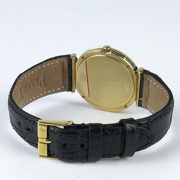 PIAGET(피아제) 18K(750) Polo 다이아 31MM 여성용 가죽 밴드 시계 [강남본점] 이미지4 - 고이비토 중고명품