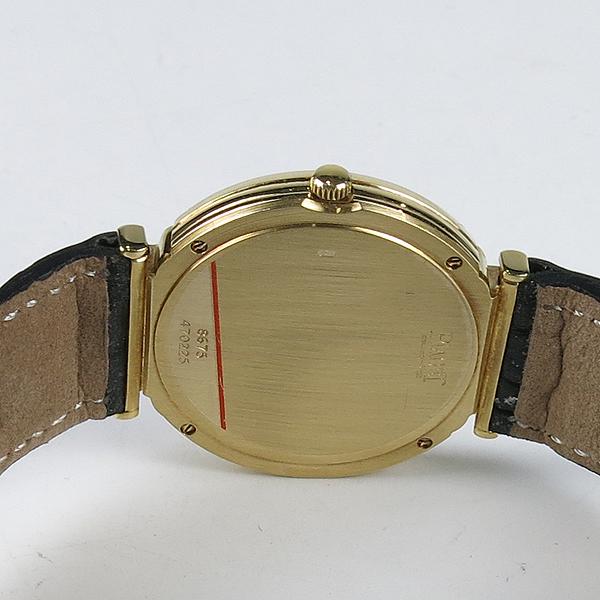 PIAGET(피아제) 18K(750) Polo 다이아 31MM 여성용 가죽 밴드 시계 [강남본점] 이미지5 - 고이비토 중고명품