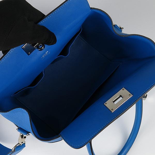 Hermes(에르메스) 블루 컬러 툴박스 20 토트백 + 숄더 스트랩 [강남본점] 이미지5 - 고이비토 중고명품
