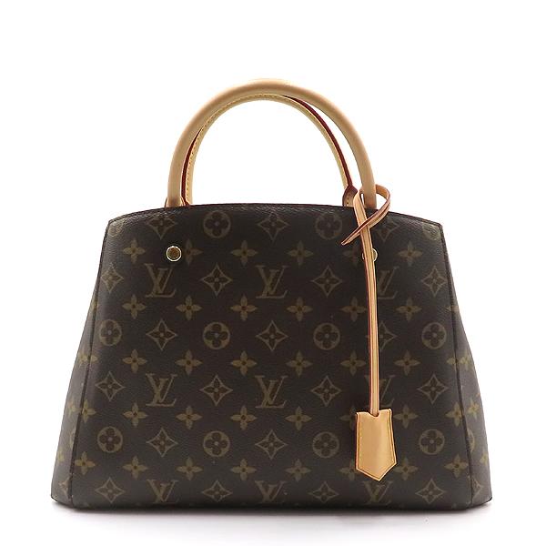 Louis Vuitton(루이비통) M41056 몽테뉴 모노그램 캔버스 MM 토트백 + 숄더스트랩 2WAY [대전갤러리아점] 이미지2 - 고이비토 중고명품