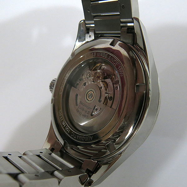 Tag Heuer(태그호이어) WAR201A-1 CARRERA 까레라(카레라) Calibre5 칼리브5 오토매틱 데이데이트 스틸 남성용시계 [대구동성로점] 이미지6 - 고이비토 중고명품