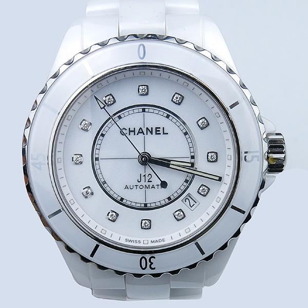 Chanel(샤넬) H5705 NEW J12 칼리버 12.1 38MM 화이트 세라믹 오토매틱 데이트 남여공용시계 [강남본점]