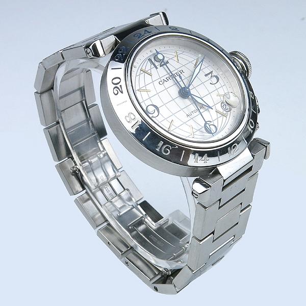 Cartier(까르띠에) W31078M7 파샤 스틸 오토메틱 남여공용 시계 [강남본점] 이미지2 - 고이비토 중고명품