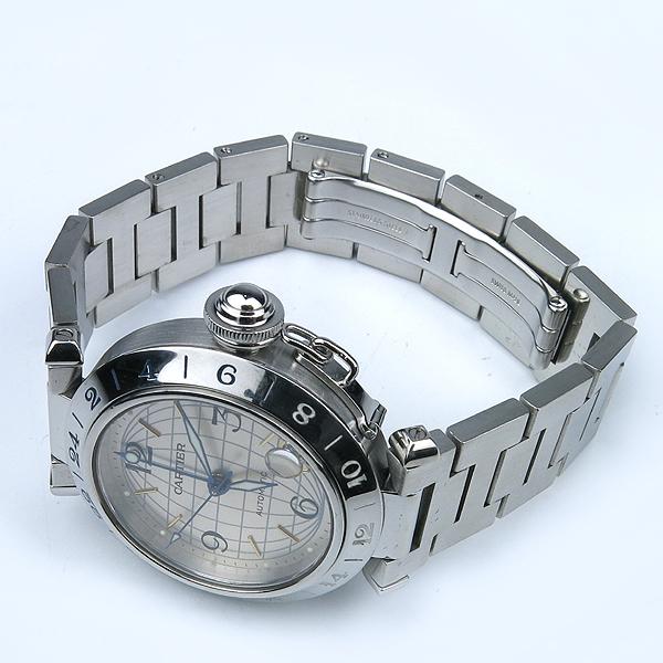 Cartier(까르띠에) W31078M7 파샤 스틸 오토메틱 남여공용 시계 [강남본점] 이미지3 - 고이비토 중고명품