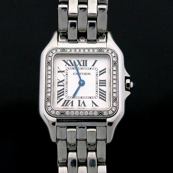 Cartier(까르띠에) W4PN0008 신형 팬더 베젤 다이아 medium(미듐) 사이즈 스틸 여성용 시계 [부산센텀본점] 이미지2 - 고이비토 중고명품