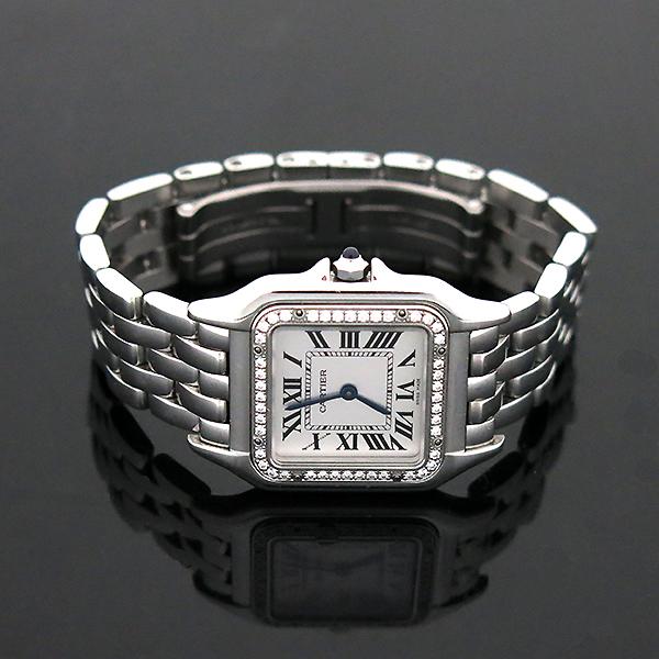 Cartier(까르띠에) W4PN0008 신형 팬더 베젤 다이아 medium(미듐) 사이즈 스틸 여성용 시계 [부산센텀본점] 이미지3 - 고이비토 중고명품