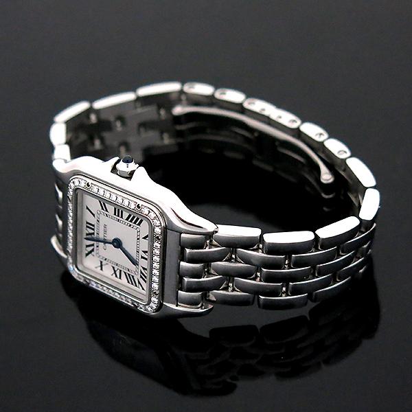 Cartier(까르띠에) W4PN0008 신형 팬더 베젤 다이아 medium(미듐) 사이즈 스틸 여성용 시계 [부산센텀본점] 이미지4 - 고이비토 중고명품
