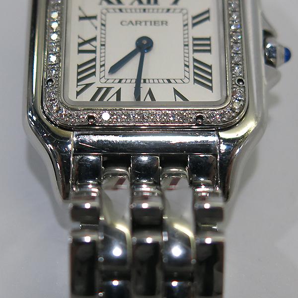 Cartier(까르띠에) W4PN0008 신형 팬더 베젤 다이아 medium(미듐) 사이즈 스틸 여성용 시계 [부산센텀본점] 이미지6 - 고이비토 중고명품