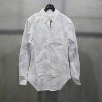 톰브라운 플라워 자수 셔츠