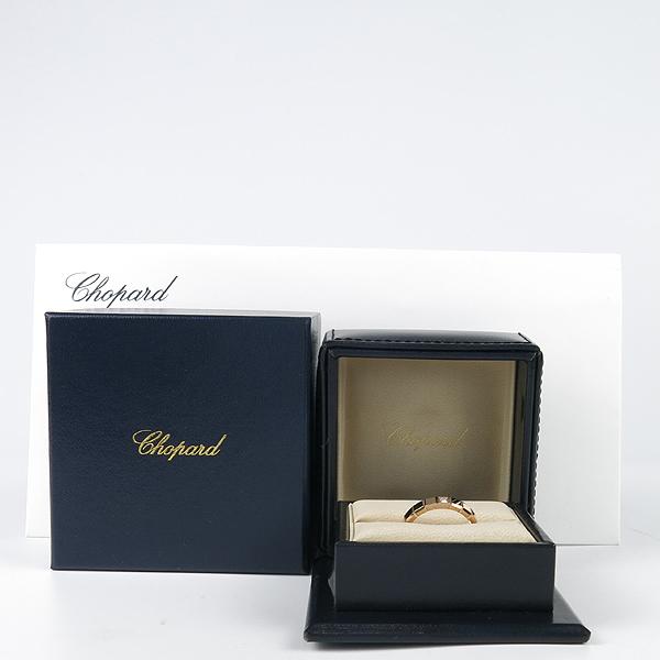 Chopard(쇼파드) 829834 18K 로즈 골드 ICE CUBE(아이스 큐브) 1포인트 다이아 반지-19호 [강남본점]